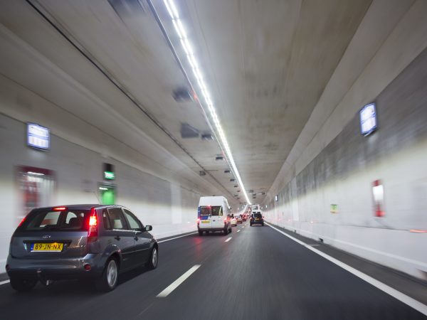 New tunnel opened in netherlands (second Coentunnel)